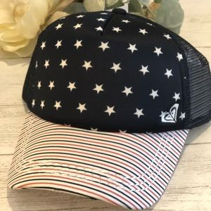 NWT Roxy Truckin 4th of July Hat